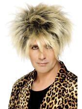 Breve evidenziato WILD BOY Parrucca Uomo Anni'80 Punk Rocker Costume Parrucca