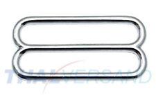 10 Stück Schieber ( Stopper ) 40mm Zinkdruckguss Rund Regulator für Gurtband