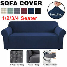 PREMIUM Elastic STRETCH SOFA COVERS Slipcover Protector Settee 1/2/3/4Seater HOT