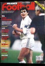 FRANCE FOOTBALL 21/4/1987; Real Madrid-Bayern Munich/ Ajax; Van Basten/ Bordeaux