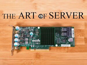 Supermicro LSI 9300-8i low profile 12Gbps SAS HBA P16 IT mode ZFS FreeNAS unRAID