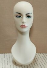 Less Than Perfect #318-B Female Mannequin Head Display Form with Pierced Ears