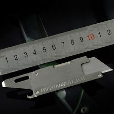 Outdoor Pocket Knife 4 in 1 Multi Paper Knife Cutter Bottle Opener Screwdriver