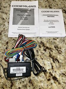 New Code Alarm CA1055 Security Brain Unit Plus Wiring Only No Remotes Or Siren