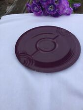 "FIESTA NEW Retired HEATHER  purple HOSTESS TRAY  Fiestaware 12-1/4"" Serving tray"