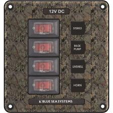 Blue Sea 4323 Circuit Breaker Switch Panel 4 Position - Camo