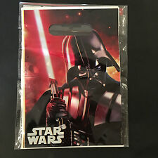 10x Disney Star Wars Plastic Party Loot Lolly Bags Treat Bag Boys Party Supply