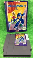 Mega Man 4 (Nintendo Entertainment System, 1992) Capcom Game Box Section Used
