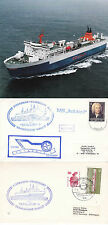 GERMAN FERRY RAILSHIP I 2 SHIPS CACHED COVERS & A MAGAZINE PICTURE