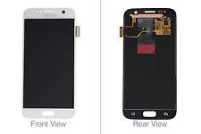 Genuine Samsung Galaxy S7 G930 White LCD Screen & Digitizer No LCD Adhesive - GH