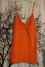 Aeropostale brand new with tags orange dress women's size extra large