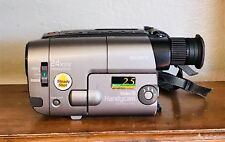 Sony Handycam Steady Shot 24x Digital Zoom Video 8 Camera Recorder Complete