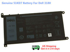 Oem Genuine Y07Hk 51Kd7 Dell Battery Chromebook 11 3180 3189 Laptop 11.4V 42Wh