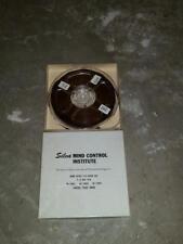 Silva Mind Control Institute Reel to Reel Audio Psychorientology Mc-202-Gsi