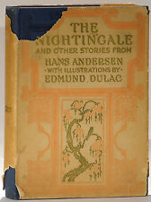 Edmund Dulac The Nightingale 1911 first edition stories by Hans Andersen