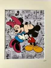 Disney - Mickey & Minnie Mouse - Hand Drawn & Hand Painted Cel