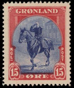 GREENLAND 14 - King Christian X (pb30205)