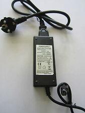 12.0V 12V 5.0V 5V 2000mA 2A 4 Pin DIN AC-DC Adaptor Power Supply + EU Plug Type2