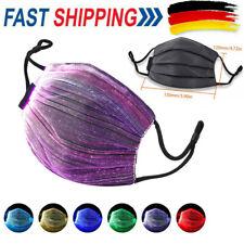 LED Mund- und Nasenmaske mit 7 verschiedenen Farben - Ideal für Schutz sale