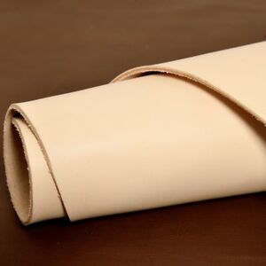 2mm Thick DIY Natural Veg Tanned Cowhide Shoe Lining Craft Leather Soft Material