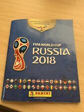 PANINI Russia 2018 World Cup -c95%  Complete Album - 635 / 682 Stickers - VGC!!