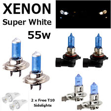 H7 H3 HB3 55w WHITE XENON UPGRADE HID FULL SET Headlight Bulbs HIGH/LOW/FOG/SIDE