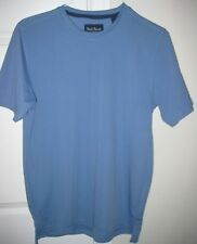 Nat Nast Medium Blue Men's Performance Golf T-Shirt Dri-Fit M10626 Retail $45