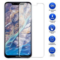 Tempered Glass Film Screen Protector for Nokia 3.1 5.1 6.1 Plus 7 7.1 8 Sirocco