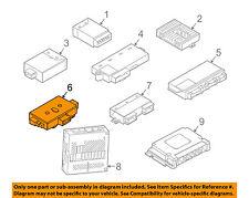 BMW OEM 04-05 645Ci Electrical-Control Module Left 61359110845