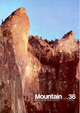 MOUNTAIN 1974-6 Rock climbing and mountaineering magazine Vintage Nos 36 to 51