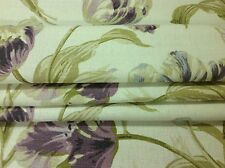 Laura Ashley Gosford plum made to measure roman blinds