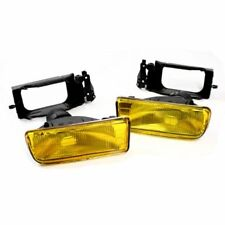 Pair OEM look YELLOW foglamps fog lights lamps foglights BMW 3 series E36 & M3