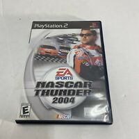NASCAR Thunder 2004 PlayStation 2 PS2 Complete w/ Case & Manual BLACK LABEL Game
