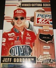 1995 Jeff Gordon Action Packed Trade Show Plaque Racing