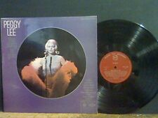 PEGGY LEE  The Song Is You  LP    NEAR-MINT   Lovely copy !!