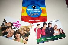 8 SIMPLE RULES lot - JOHN RITTER David Spade KALEY CUOCO