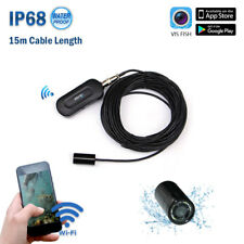 FREE SHIPPING 2018 NEW 15m Wireless WiFi IP68 underwater Mobile APP video camera