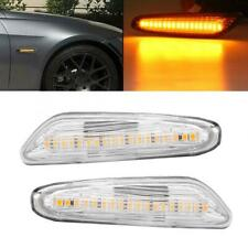 LED Side Marker Turn Signal Light For BMW E82 E88 E60 E61 E90 E91 E92 E93 E46