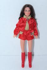 Vintage Hasbro 1977 Charlies Angels Kate Jackson Doll wearing Golden Sport