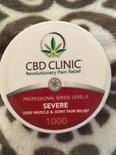 CBD CLINIC Level 4 Four Ointment SEVERE Deep Muscle & Joint Pain Relief Liniment