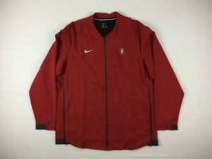 Stanford Cardinal Nike Jacket Men's Red Poly NEW Multiple Sizes