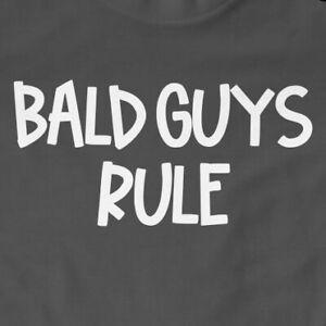 Bald Guys Rule T-Shirt | Funny, Gift, Mens, Old Guys, Slogan