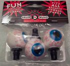 Bloodshot Eyeball Drum Nutz Cymbal Wing Nut topper NEW Exclusive Product 6mm 8mm