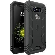 POETIC【Revolution】Hybrid Protective Case w/ Built-In Screen For LG G5 Black