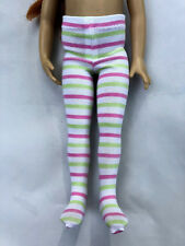 """Striped Tights for 13"""" Effner Little Darling Doll: Now with MORE Color Choices!"""