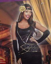 Halloween Costume Womens Size L 12 14 Large Miss Behavin Cosplay Black Dress