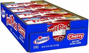 Hostess Fruit Pie, Cherry, 4.5 Ounce, 8 Count