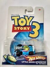 Disney Pixar Toy Story 3 Hot Wheels Little Green Speedster Die Cast Vehicle 2009