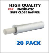 SOFT Close smorzatore buffer per mobili porte armadietto da cucina-ARGENTO-confezione da 20