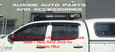 Enclosed Alloy Roof Rack Cage for Toyota Hilux 97-15 Dual Cab Roof Rack Steel